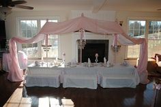 princess party canopy giggledust