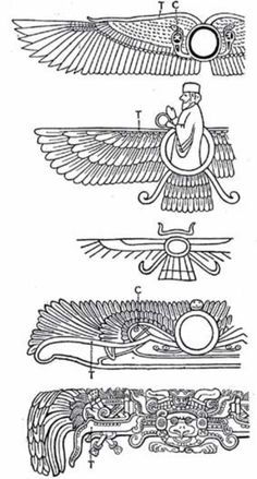 Resultado de imagen de Ancient image of winged disc Egyptian Eye Tattoos, Egyptian Drawings, Egyptian Art, Tarot, Ancient Persia, Ancient Egypt, Alchemy Art, Egyptian Goddess, Sumerian