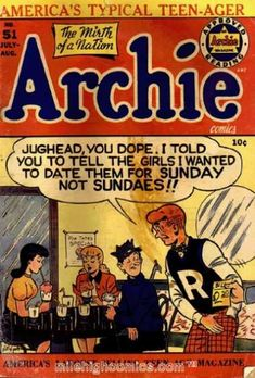 Randy toons jughead blows archie special edition