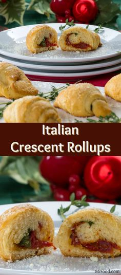 take your crescent rolls up a notch with this 5 ingredient recipe for italian crescent