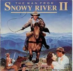 The Man from Snowy River II or also known as Return To Snowy River All Movies, Movie Theater, Great Movies, Film Movie, Disney Movies, Family Movies, Horse Movies, Horse Books, Western Film
