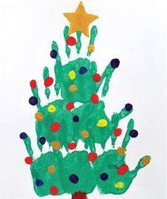 [ DIY Peinture de Noël ] Partagez des moments en famille et occupez vos bout d'chou avec de la peinture à doigts >>> http://www.perlesandco.com/Peinture_Sapin_de_No%C3%ABl_avec_les_mains-s-2371-17.html Vos enfants vont adorer !