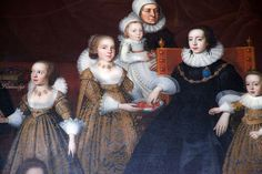 Alice lucy and her children. Charlecote Park, Hampton Lucy, Warwickshire Sir Thomas Lucy the third, who died in 1640, and his beautiful wife Alice.