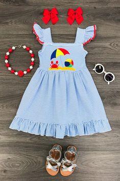 Sea Side Halter Dress