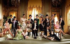 Celebrities to be used in promotional photograph for Royal Ascot: The cover of the 2010 Royal Ascot brochure
