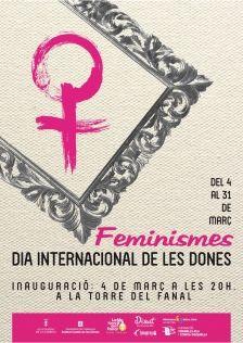 Cartell Dia Internacional de les Dones la Garriga #diaDones #lagarriga #vallesoriental #cartell