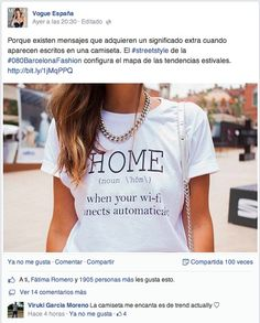 VOGUE SPAIN ON FACEBOOK