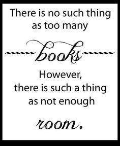 Which Means That We All Need More Bookshelf Space!