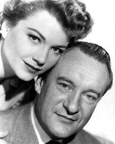 Anne Baxter and George Sanders - All About Eve