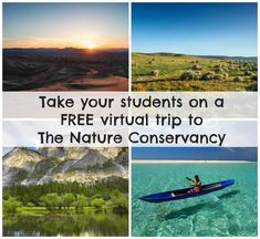 Nature Conservancy field trip: free for grades 3-8 and aligned with the Next Generation Science Standards