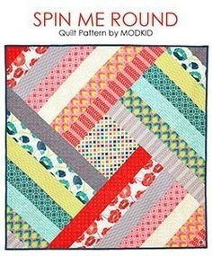 Scarf Trio Memory Board Tutorial Elf Stocking Paw Stocking Stop The Presses Quilt Pattern French Windo. Spin Me Round Quilt Block Tutorial Spin Me Round Quilt PDF Pattern. Easy quilt pattern for beginner sewing. Home decor sewing pattern with modern desig Strip Quilt Patterns, Jelly Roll Quilt Patterns, Patchwork Quilt Patterns, Strip Quilts, Easy Quilts, Quilt Blocks, Easy Quilt Patterns Free, Pdf Patterns, Pattern Ideas