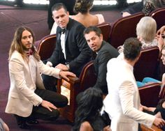 Jared Leto at 86th Annual Academy Awards 2014