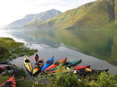 Lake Toba - North Sumatra. The biggest lake in Indonesia