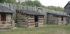 Pricketts Fort State Park in Fairmont, WV. When you visit the reconstructed fort today, you will find historical interpreters dressed in century frontier clothing and involved in activities which would have been found on the Virginia frontier at the time Virginia Usa, Virginia Homes, Log Cabin Homes, Log Cabins, Hunters Cabin, Wooden Castle, Build A Fort, Old Fort, Colonial America