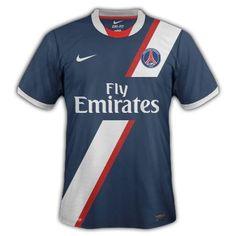 Photo : Maillot PSG 2012-2013, idée #10 - LudovicPSG - Blog Football.fr