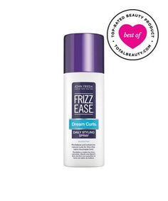 Best Curly Hair Product No. 9: John Frieda Frizz-Ease Dream Curls Daily Styling Spray, $5.99