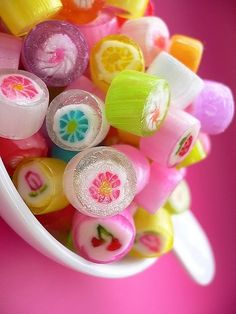 rolled hard candy
