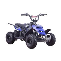 Rosso motors kids atv kids quad 4 wheeler ride on with 36v battery go bowen monster insect 24v 250w electric powered mini atv quad fandeluxe Image collections