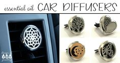 7 Blends to use with your new car diffuser from Drops of Joy Jewelry!