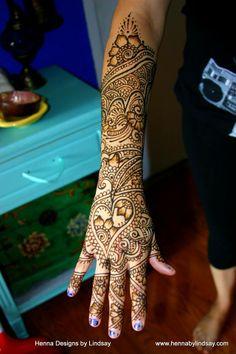 Olga's Bridal Henna Mehndi Henna Designs By Lindsay #henna #mehndi #wedding #flowers #tattoo #hennabylindsay #art