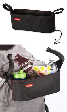 #6. Stroller Organizer -- 55 Genius Storage Inventions That Will Simplify Your Life