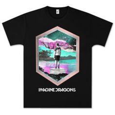 Imagine Dragons Imagine Geo T-Shirt