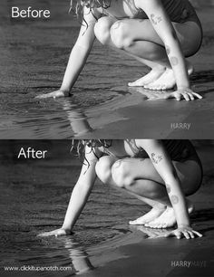 Lightroom Editing: Using Contrast and Luminance for Black & White Images