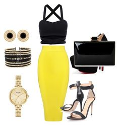 """""""Saturday night fever"""" by caballeromarsha on Polyvore featuring Posh Girl, Gianvito Rossi, Kate Spade and Eloquii"""