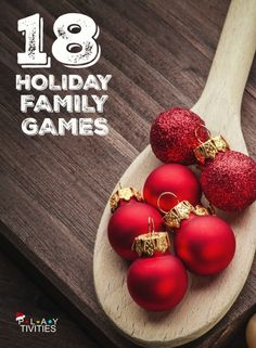 Fun Simple Christmas Party GamesEspecially Good For A High
