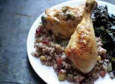 Slow-Roasted Chicken with Shallot-Garlic Pan Sauce via @thebittenword