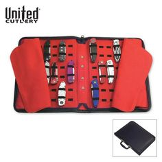 Save $ 12.41 order now United Cutlery UC1338 Pocket Knife Storage Case, Large at