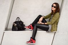 If I did wear tennis shoes, I need it to look fab like this!