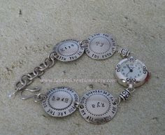 Personalized Mommy Jewelry  Hand Stamped by LalabelCreations
