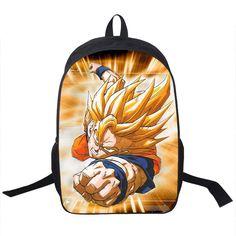 Various Dragonball Dragon Ball Z selections Backpack girls boys teen childrens school book bag carrying case