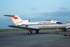 Aeroflot Yakovlev Yak40