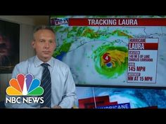 Hurricane Laura hit western Louisiana with a devastating blow at 2 a.m. EDT Thursday, August 27, 2020, making landfall as a category 4 storm with 150 mph winds with sustained winds. Lake Charles Louisiana, Category 4, Storm Surge, Nbc News, Coast, Bring It On, August 27, Youtube