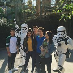 The cast of Disney XD's Lab Rats: Elite Force are spending time at Walt Disney World Resort in Florida.  Jake Short shared this picture above via his Inst