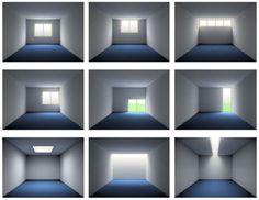 (via Iluminación natural en arquitectura)
