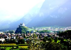Balzers is a village and community located in southern Liechtenstein. As of the 2005 census, the community has a total population of 4,420. The main part of the village is situated along the east bank of the Rhine.