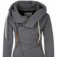 cowl neck hoodie womens - Google Search