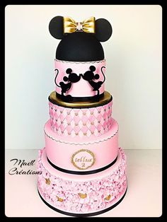 Minnie cake princess