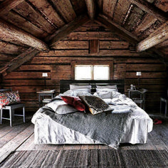 Gorgeous Rustic Cabin Interior Idea (12)