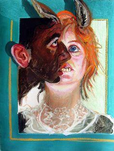 ,Ilustración de Natalie Frank para El burro lechuga