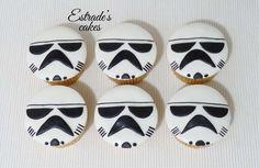 Estrade's cakes: cupcakes de Star Wars.