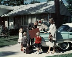 "1950s Family: It should say ""ideal 1950s family."" This would have been upper middle class, or solid middle class."