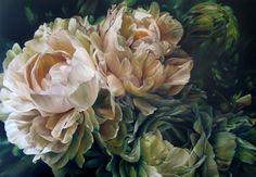 """Saatchi Art Artist: Marcella Kaspar; Oil 2012 Painting """"Marcella Kaspar_Dancing Spirit_106x152cm_oil on linen_SOLD"""""""