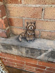 image - Chalk Art - David Zinn & Others - David Zinn, 3d Street Art, Street Art Graffiti, Street Artists, Graffiti Artists, Street Work, Abstract Sculpture, Sculpture Art, Metal Sculptures