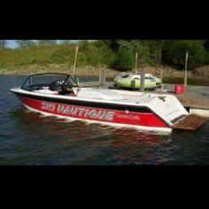 My favorite boat! Ski Nautique! Yeah baby!