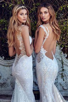 galia lahav bridal spring 2017 sheath mermaid trumpet sweetheart wedding dresses (samantha avena) zbv low back train
