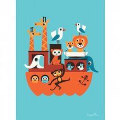 Ingela Arrhenius Ark Poster By Omm Design Www.husandhem.co.uk